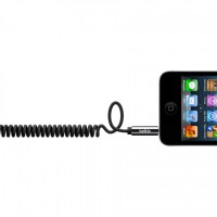 Cтереокабель для Apple. Belkin mixit coiled.